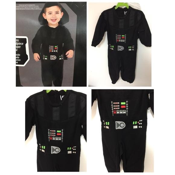 M_5b5b3b5812cd4afea455ca96  sc 1 st  Poshmark & Costumes | Star Wars Darth Vader Toddler Boys Costume Size 2t | Poshmark